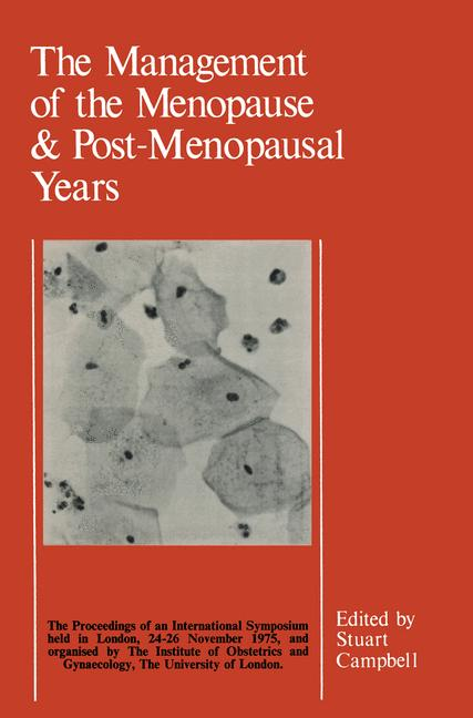 Cover of 'The Management of the Menopause & Post-Menopausal Years'