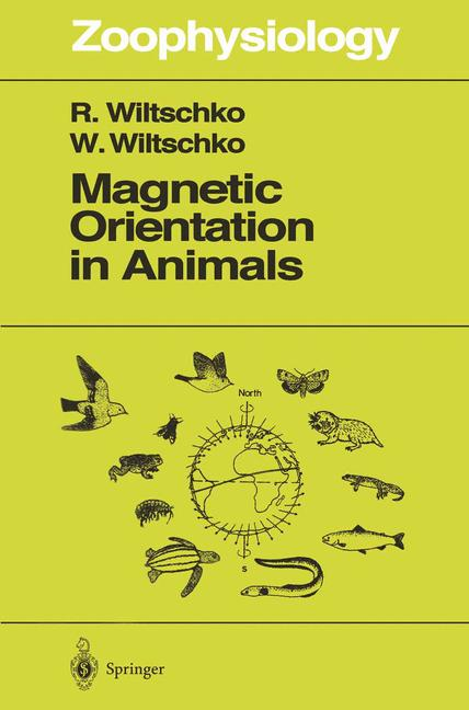 Cover of 'Magnetic Orientation in Animals'