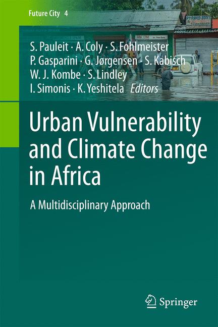 Cover of 'Urban Vulnerability and Climate Change in Africa'