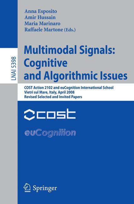 Cover of 'Multimodal Signals: Cognitive and Algorithmic Issues'