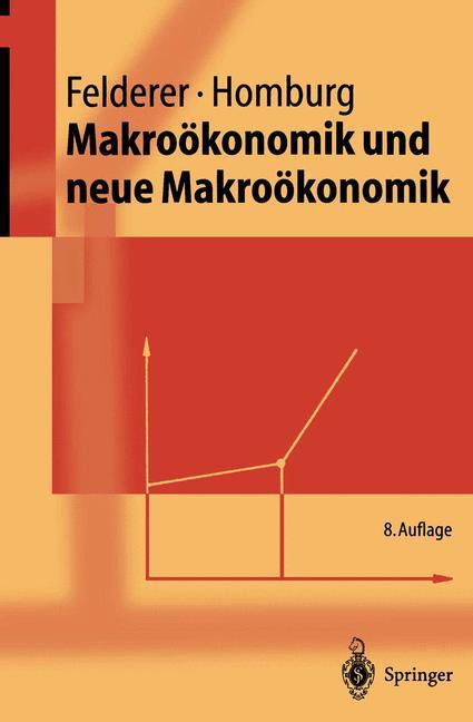 Cover of 'Makroökonomik und neue Makroökonomik'