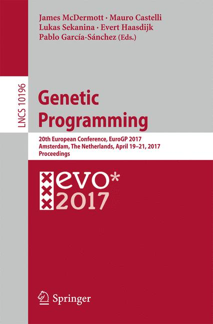 Cover of 'Genetic Programming'