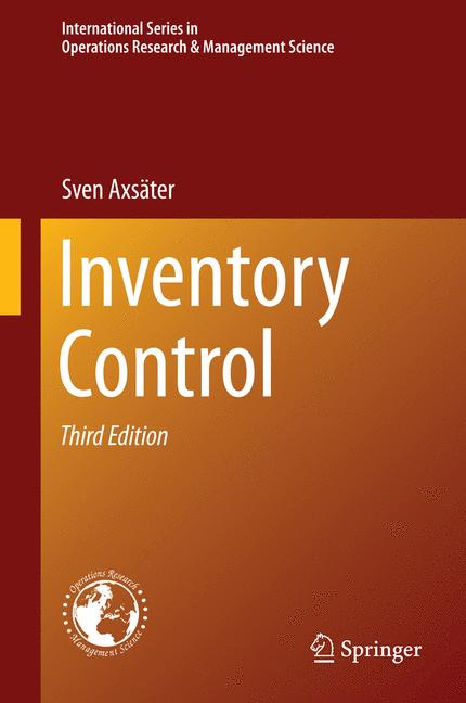 Cover of 'Inventory Control'