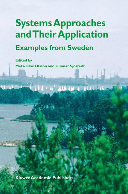 Cover of 'Systems Approaches and Their Application'