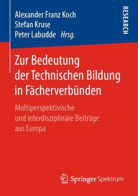 Cover of 'Zur Bedeutung der Technischen Bildung in Fächerverbünden'