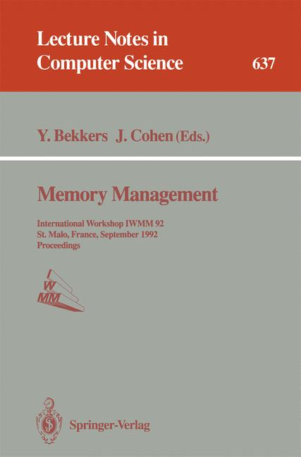 Cover of 'Memory Management'