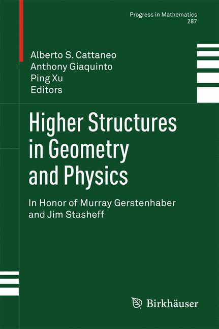 Cover of 'Higher structures in geometry and physics'