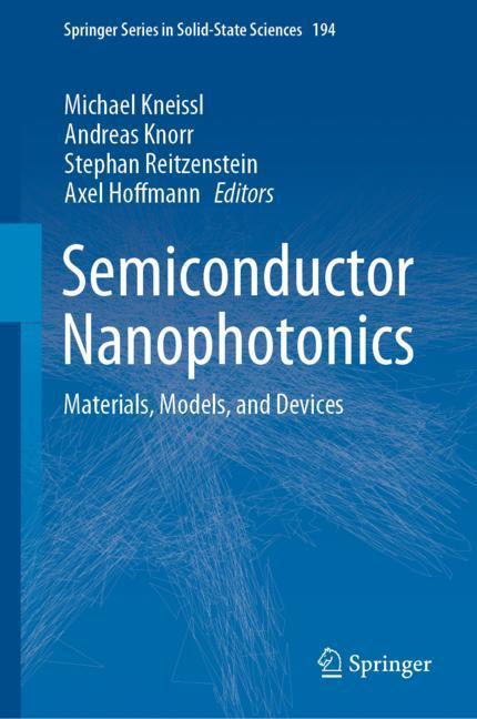 Cover of 'Semiconductor Nanophotonics'
