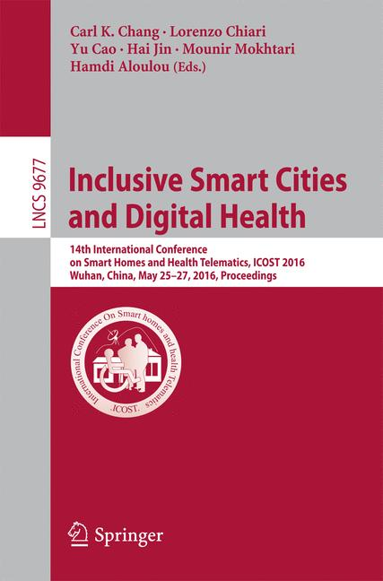 Cover of 'Inclusive Smart Cities and Digital Health'