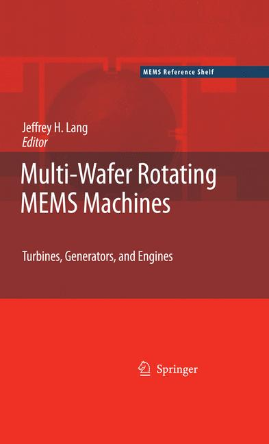 Cover of 'Multi-Wafer Rotating MEMS Machines'
