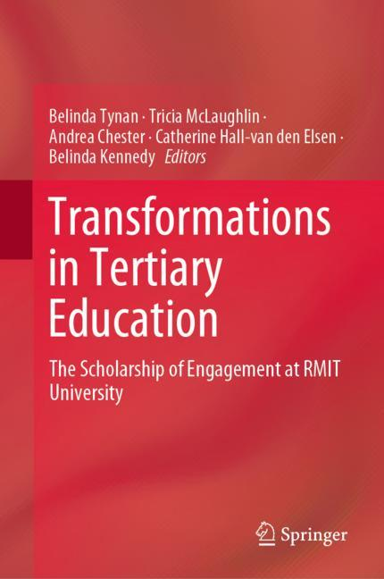 Cover of 'Transformations in Tertiary Education'