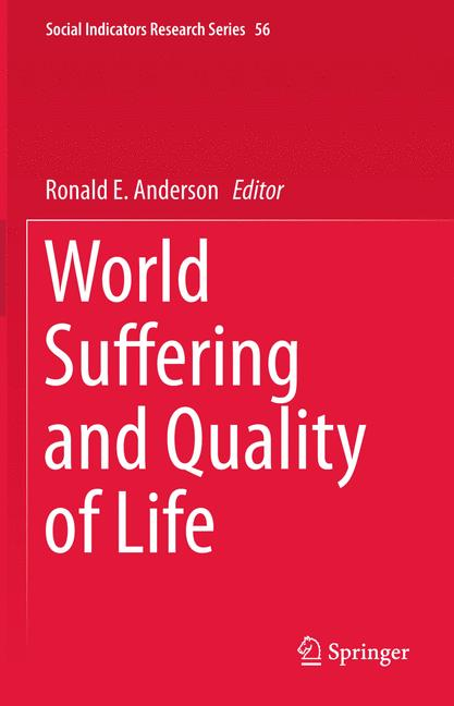 Cover of 'World Suffering and Quality of Life'