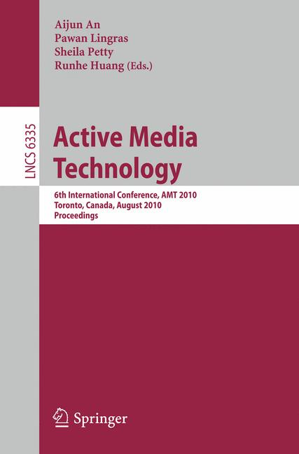 Cover of 'Active Media Technology'