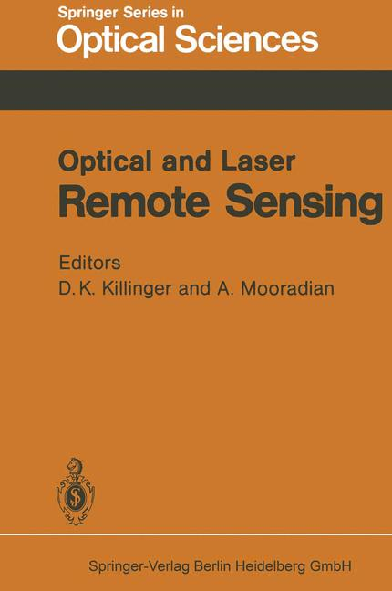 Cover of 'Optical and Laser Remote Sensing'