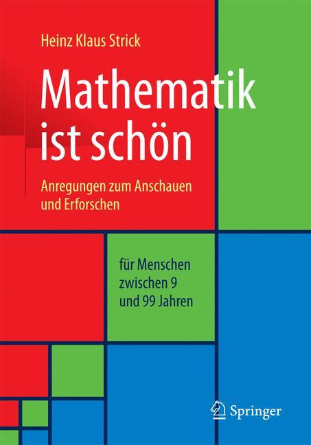 Cover of 'Mathematik ist schön'