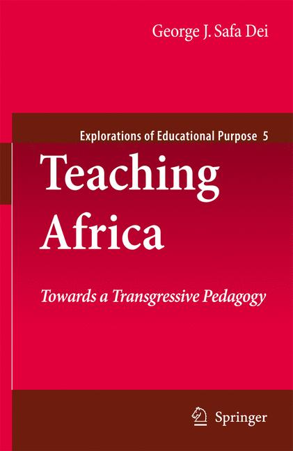 Cover of 'Teaching Africa'