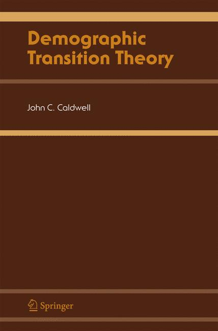 Cover of 'Demographic Transition Theory'