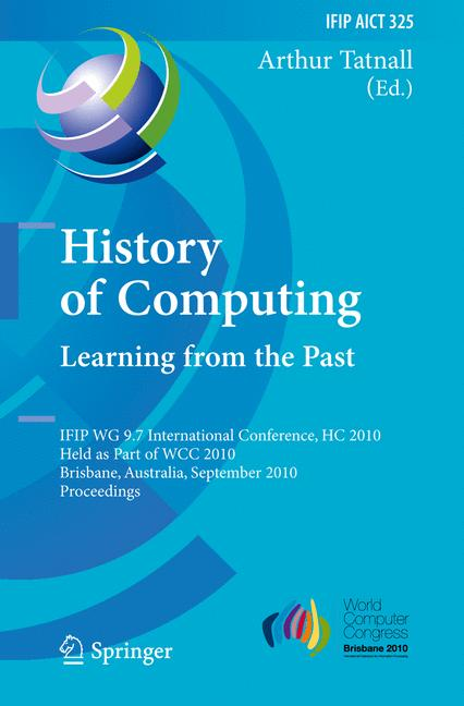 Cover of 'History of Computing: Learning from the Past'