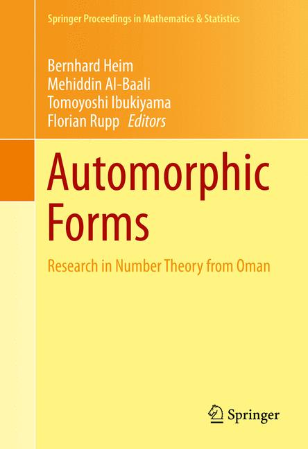 Cover of 'Automorphic Forms'