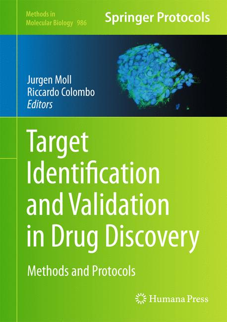 Cover of 'Target Identification and Validation in Drug Discovery'