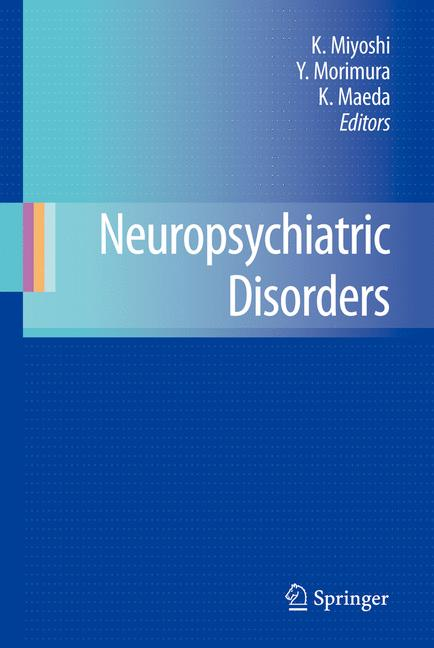 Cover of 'Neuropsychiatric Disorders'