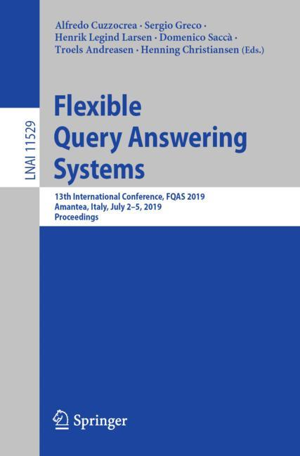 Cover of 'Flexible Query Answering Systems'