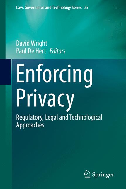 Cover of 'Enforcing Privacy'