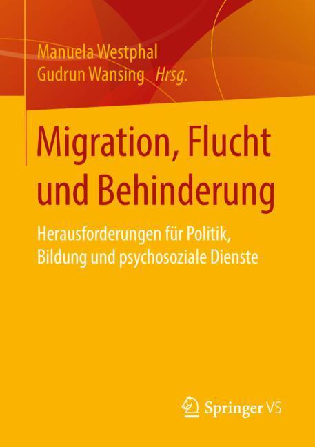 Cover of 'Migration, Flucht und Behinderung'
