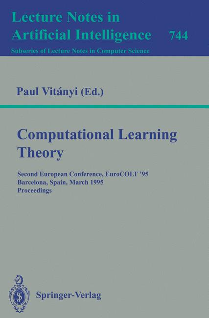Cover of 'Computational Learning Theory'
