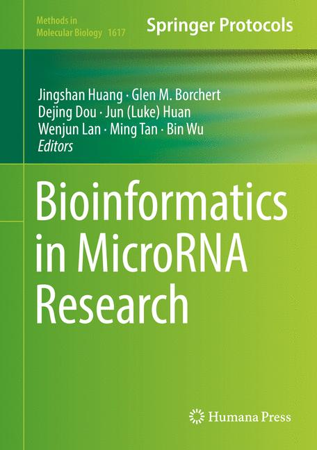 Cover of 'Bioinformatics in MicroRNA Research'