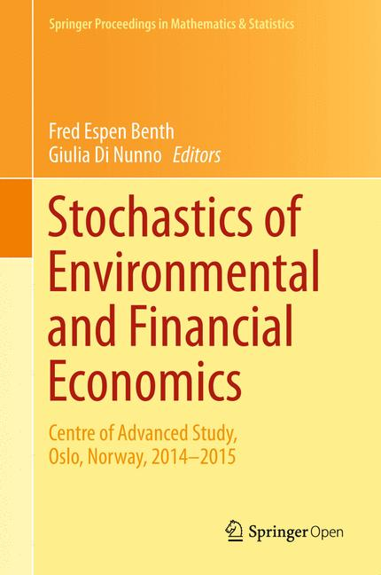 Cover of 'Stochastics of Environmental and Financial Economics'