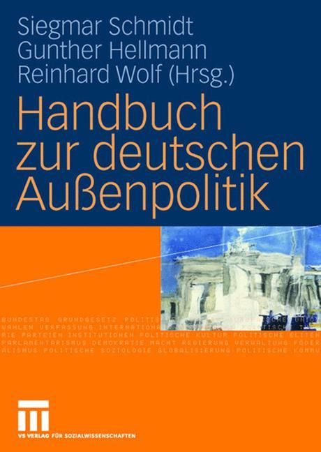 Cover of 'Handbuch zur deutschen Außenpolitik'