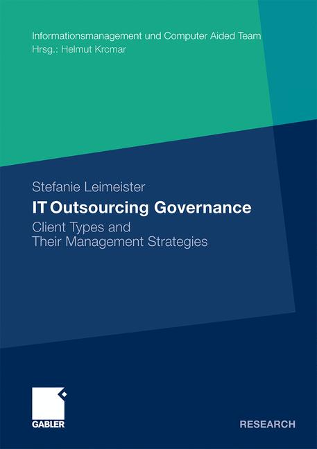 Cover of 'IT Outsourcing Governance'
