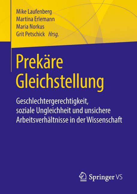Cover of 'Prekäre Gleichstellung'