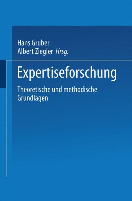 Cover of 'Expertiseforschung'