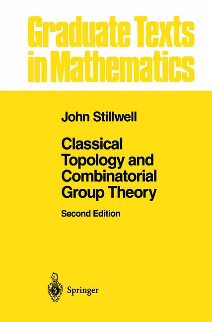 Cover of 'Classical Topology and Combinatorial Group Theory'