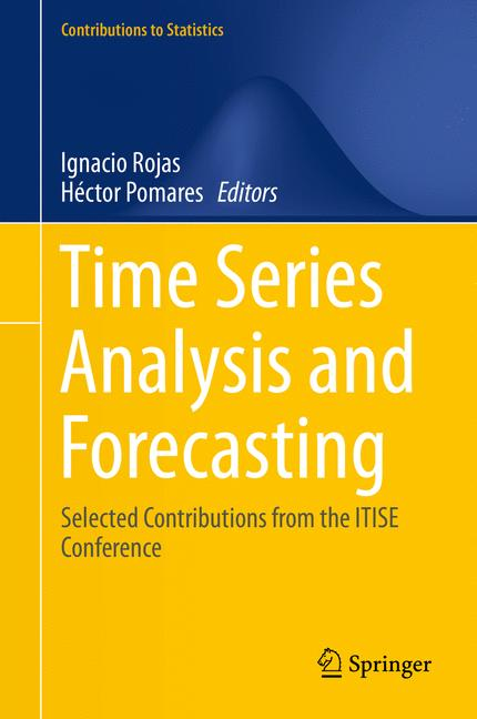 Cover of 'Time Series Analysis and Forecasting'