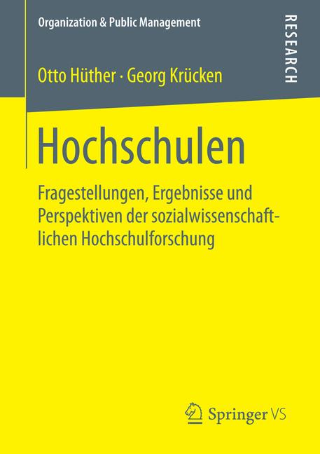 Cover of 'Hochschulen'