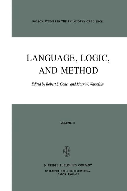 Cover of 'Language, Logic and Method'