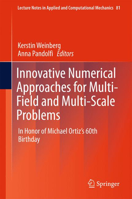 Cover of 'Innovative Numerical Approaches for Multi-Field and Multi-Scale Problems'