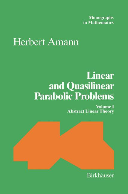Cover of 'Linear and Quasilinear Parabolic Problems'