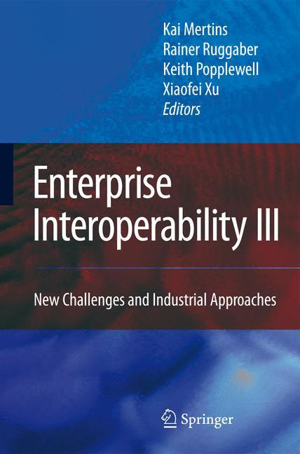 Cover of 'Enterprise Interoperability III'