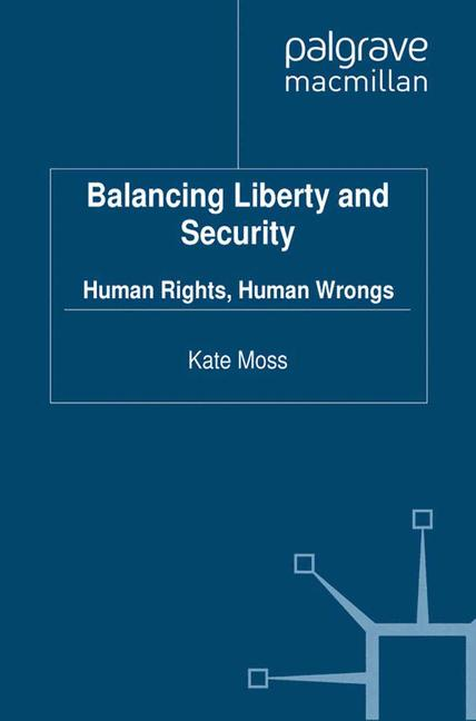 Cover of 'Balancing Liberty and Security'
