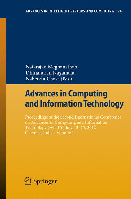 Cover of 'Advances in Computing and Information Technology'