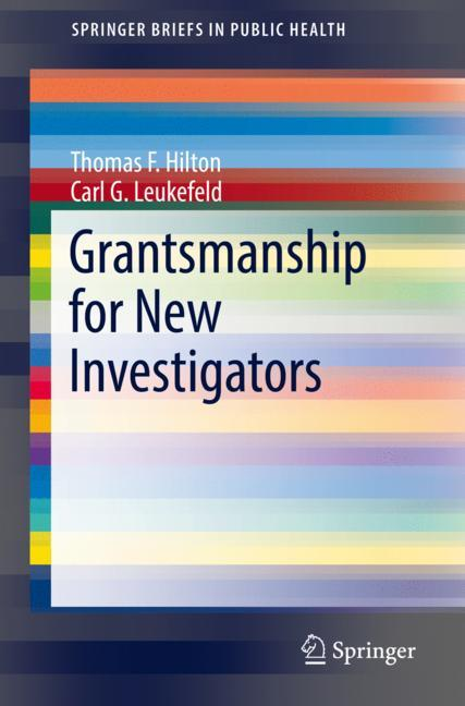 Cover of 'Grantsmanship for New Investigators'