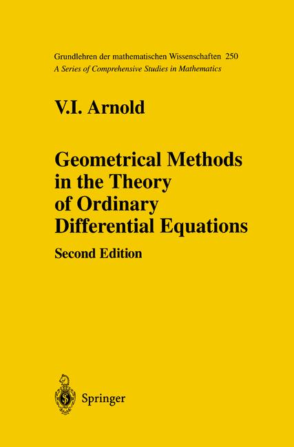 Cover of 'Geometrical Methods in the Theory of Ordinary Differential Equations'