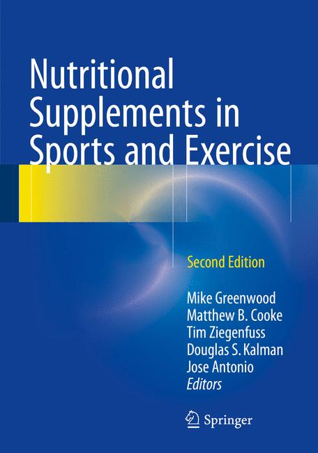 Cover of 'Nutritional Supplements in Sports and Exercise'