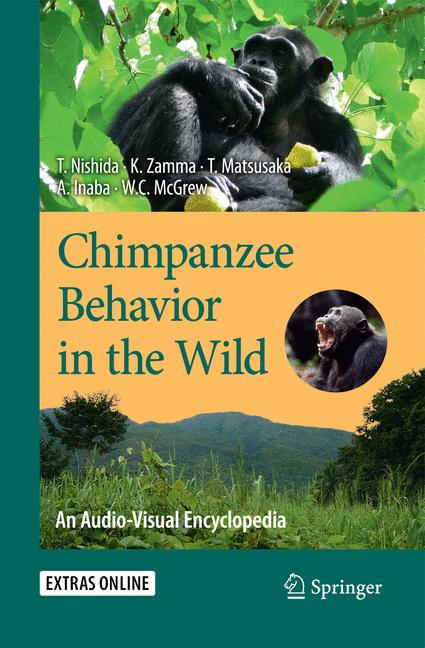 Cover of 'Chimpanzee Behavior in the Wild'