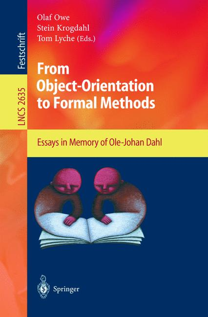 Cover of 'From Object-Orientation to Formal Methods'