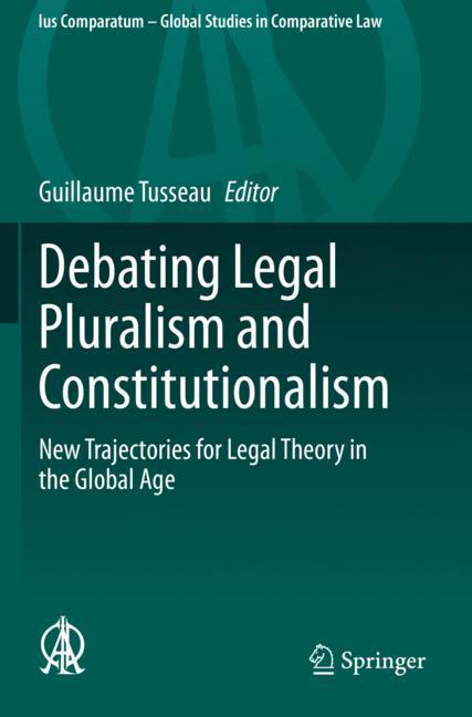 Cover of 'Debating Legal Pluralism and Constitutionalism'